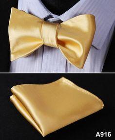 BL21 100%Silk Jacquard Woven Men bow tie, Wedding Butterfly Self Bow Tie Pocket Square Handkerchief BowTie Set Hanky Suit A9