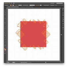 How to make a repeatable pattern in Illustrator || mediumrare