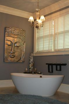 We are loving shades of grey! Beautiful makeover on this master bath and bedroom
