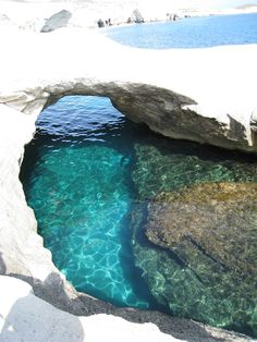 Sarakiniko Beach Milos, Greece