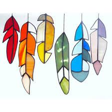 Image result for glass feathers