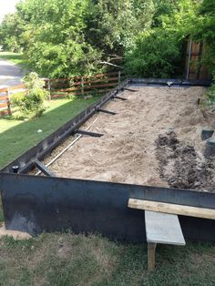 Image result for how to install a steel plate retaining wall