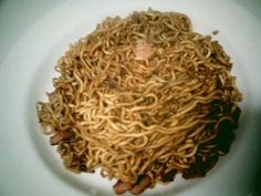 Lo Mein w/spam (not liking the spam idea too much...)