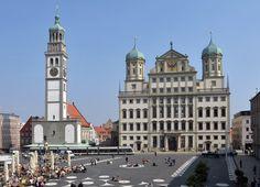 Augsburg * Rathaus * Perlachturm