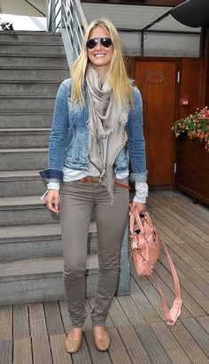 Bar Refaeli Finds a Match at the French Open