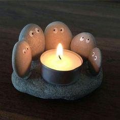 little rock candle holder is perfect for any summer night or even your livi. This little rock candle holder is perfect for any summer night or even your livi. - -This little rock candle holder is perfect for any summer night or even your livi. Cute Crafts, Diy And Crafts, Crafts For Kids, Arts And Crafts, Crafts To Make And Sell Easy, Cool Stuff To Make, Beach Crafts, Easy Gifts To Make, Decor Crafts