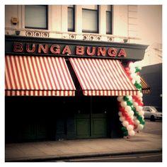 Bunga Bunga in Battersea, Greater London