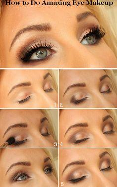 How to do amazing eye makeup.