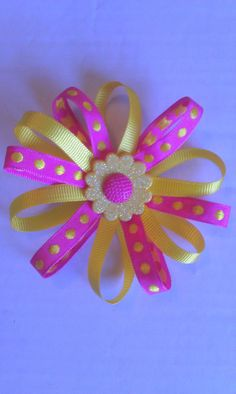 Loopy Hair bow by SOOriginals on Etsy