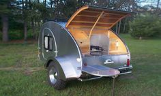 It's on my bucket list to get a teardrop trailer and travel around the country.