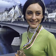 Peggy Fleming - 1968 Winter Olympics Women's Figure Skating Gold Medal winner - The Olympics were held in Grenoble, France. Are you getting your triple sow cow double toe loops ready folks? It's only 23 days until opening ceremonies for the 2014 Olympics. 1968 Olympics, Summer Olympics, Olympic Team, Olympic Games, Olympic Icons, Olympic Champion, Olympic Ice Skating, Peggy Fleming, Olympic Gold Medals
