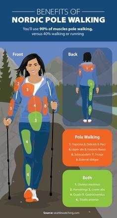 Benefits Nordic Walking Poles