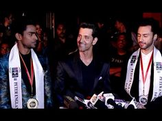 Hrithik Roshan At Grand Finale Of Mr. India 2016.