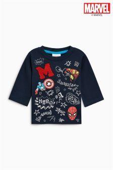 T-shirt E Maglie Sincere T Shirt Thor Marvel Avengers Bambino Blue Royal Tshirt Maglia Maglietta Nuovo