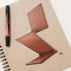 «Ok no longer on vacation, time to get back to sketching. Finished up my Eames…
