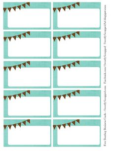 1000 images about paper and printables on pinterest for Free printable blank business cards templates