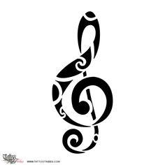 TATTOO TRIBES - Dai forma ai tuoi sogni, Tatuaggi con significato - musica, nota, chiave, violino, sol