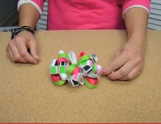 Colorful Loopy Hair Bow Video Tutorial Bowdabra Blog