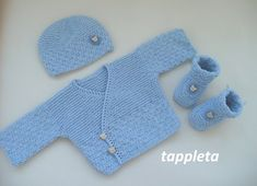 blue sweater set newborn, bear baby boy outfit, hospital clothes, coming home outfit, knitted sweate Baby Sweater Knitting Pattern, Baby Knitting Patterns, Storing Baby Clothes, Baby Pullover, Crochet For Boys, Coming Home Outfit, Sweater Set, Baby Boy Fashion, Baby Sweaters