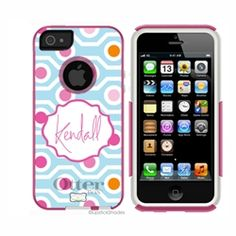Personalized OTTERBOX iPhone 5 case $88 (includes personalization)