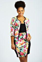 Sophie Floral Boxy Jacket