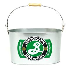 Beer Bucket Brooklyn Beer, Chilled Beer, Beer Bucket, German Beer Steins, Wine Photography, All Beer, Brewery, Merchandising Ideas, Guinness