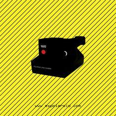 Polaroid 1000 Black. unpeuflou.