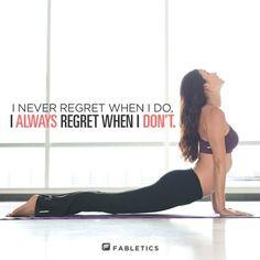 never ever regret practicing