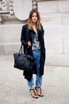 Céline bag & boyfriend jean
