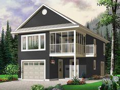 Garage Apartment Plan, 027G-0003