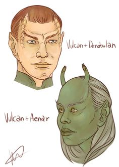 Star Trek Characters Species Fandoms Stars Sketches Awesome Stuff
