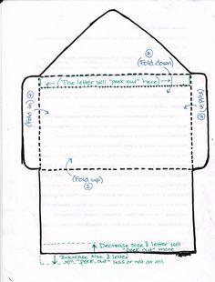 Envelope TEMPLATES We Love Snail Mail