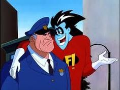 Freakazoid! and Sgt.Cosgrove who was voiced by Ed Asner.