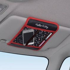 Details about sanrio 2015 hello kitty car visor accessory organizer