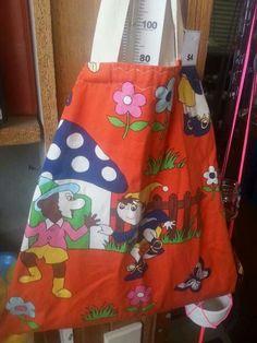 "Brunswick op shopping fun: vintage ""Noddy"" book bag ♡"