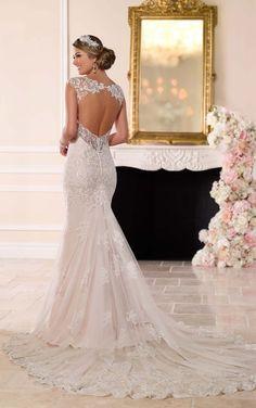 6245 Romantisches Brautkleid aus Spitze by Stella York