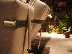 FLEXFORM A.B.C.D. #armchairs with covers in cashmere, designed by Antonio Citterio. Find out more on www.flexform.it