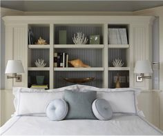 Elegant yet simple: design for a small bedroom.