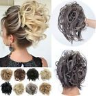 Real As Human Messy Bun Ponytail Scrunchie Tousled Hair Piece Extensions Updo US Curly Hair Pieces, Ponytail Hair Piece, Clip In Hair Pieces, Ponytail Hair Extensions, Human Hair Extensions, Curly Hair Styles, Natural Hair Styles, Ponytail Scrunchie, Hair Scrunchies