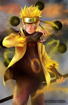 Naruto - Six Paths Sage Mode by minhquach94