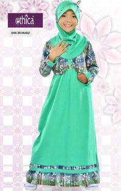 Baju Overall Cardigan Anak Ethica OSK 35 Hijau Hijab Niqab, Mode Hijab, Dress Anak, Kids Fashion, Womens Fashion, Girls Party Dress, Hijab Fashion, Fashion Muslimah, Overalls
