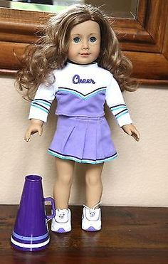 American-Girl-Doll-cheerleading-outfit-with-megaphone