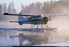 De-Havilland Beaver takes you to your fly-in outpost cabins- Hunting , Fishing vacations Call AirDale Flying Services in Sault Ste. Drones, Lost In America, Bush Pilot, Bush Plane, Float Plane, Flying Boat, Aircraft Photos, Aviation Art, Campers