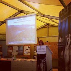 Al VI Convegno Nazionale della Ricerca nei Parchi #parconaturaviva Cristina Giacoma dell'Univiversità di Torino parla della foresta di #maromizaha in #Madagascar #conservation #lemurs #indri #nature #universitaditorino