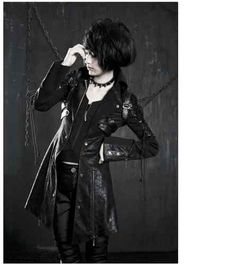 New Punk Rave Gothic Vampire Heavy Metal Jacket Coat All Stock in Australia Gyaru, Dark Fashion, Gothic Fashion, Cyberpunk, Rockabilly, Red And Black Jacket, Red Black, Harajuku, Grunge