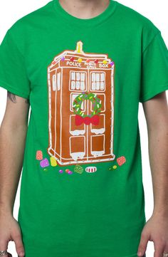 Christmas Tardis T-Shirt: TV Shows Doctor Who T-shirt
