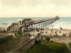 Fantastic A4 Glossy Print 'Portobello - The Pier' - Taken From An Original Vintage Photocrom Image Circa 1900 by Unknown http://www.amazon.co.uk/dp/B0079GGODK/ref=cm_sw_r_pi_dp_3zknvb1EJYBP1