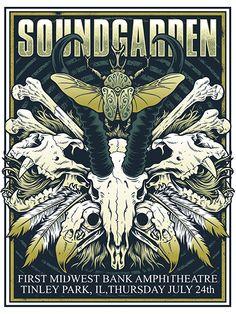 Soundgarden - Cryface Design - 2014 ----