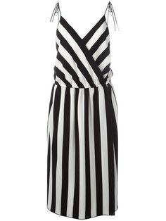 MARC JACOBS striped mid dress. #marcjacobs #cloth #dress