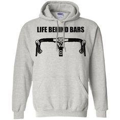 Life-behind-bars Pullover Hoodie 8 oz